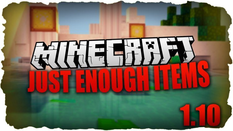 Just Enough Items Mod for Minecraft Logo