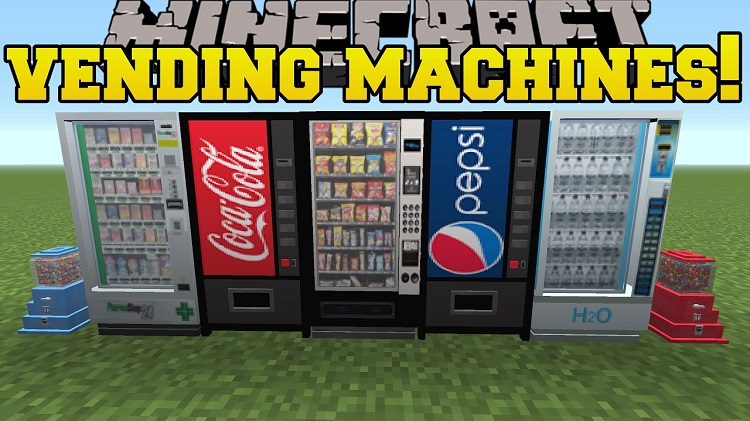 MrCrayfish Vending Machine Mod for Minecraft