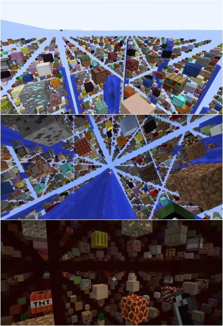 Sky Grid Mod for Minecraft 1