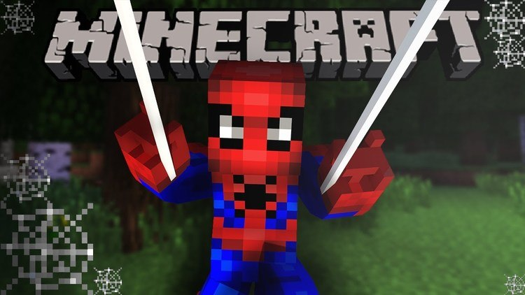 Spiderman Map for Minecraft 1