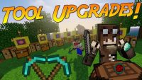 Tool Upgrades Mod for Minecraft Logo