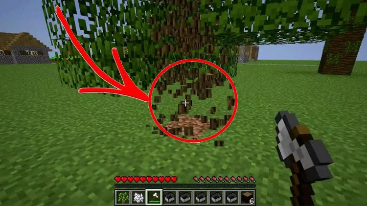 Tree Chopper Mod for Minecraft – Cut down whole Trees 1