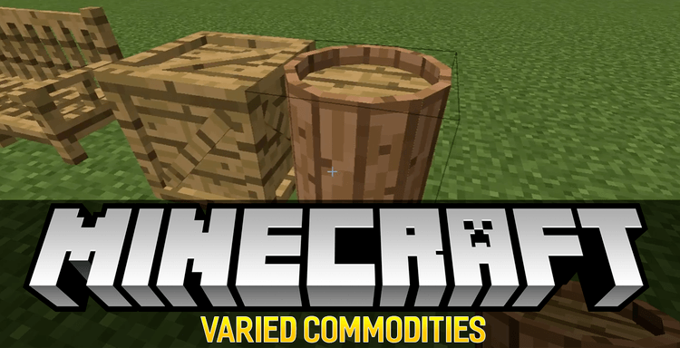 Varied Commodities mod for minecraft logo