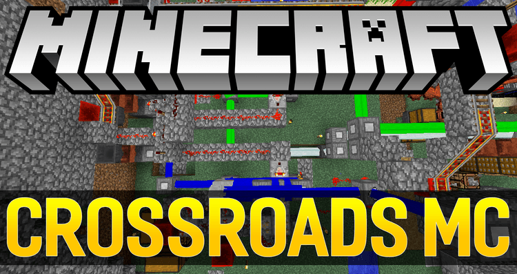 crossroads mc mod for minecraft logo