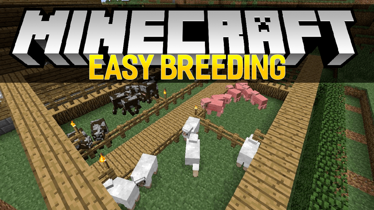 easy breeding mod for minecraft logo
