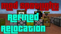 refined relocation 2 mod for minecraft logo