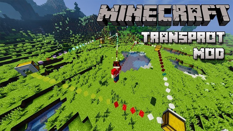 Transprot Mod for Minecraft Logo