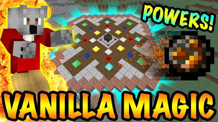 Vanilla Magic Mod for Minecraft Logo