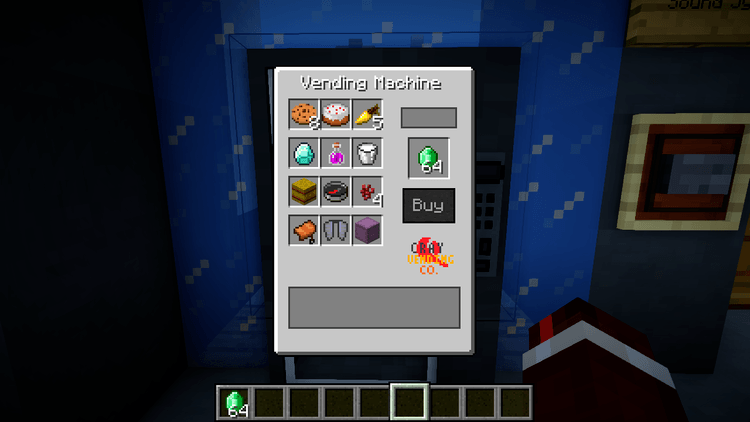 MrCrayfish Vending Machine Mod for minecraft 02