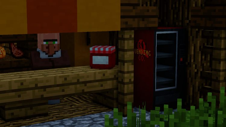 MrCrayfish Vending Machine Mod for minecraft 04