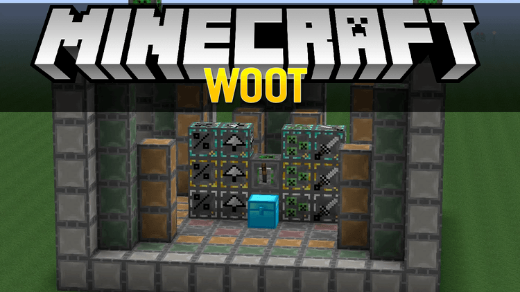 woot mod for minecraft logo