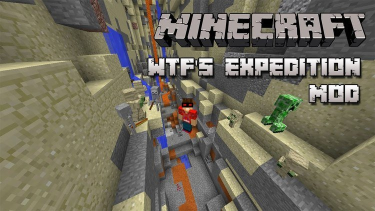 WTF's Expedition Mod for minecraft logo