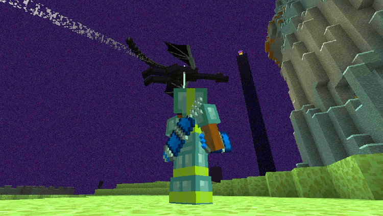 Advanced Hook Launchers mod for minecraft 01