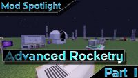 Advanced rocketry mod minecraft Logo