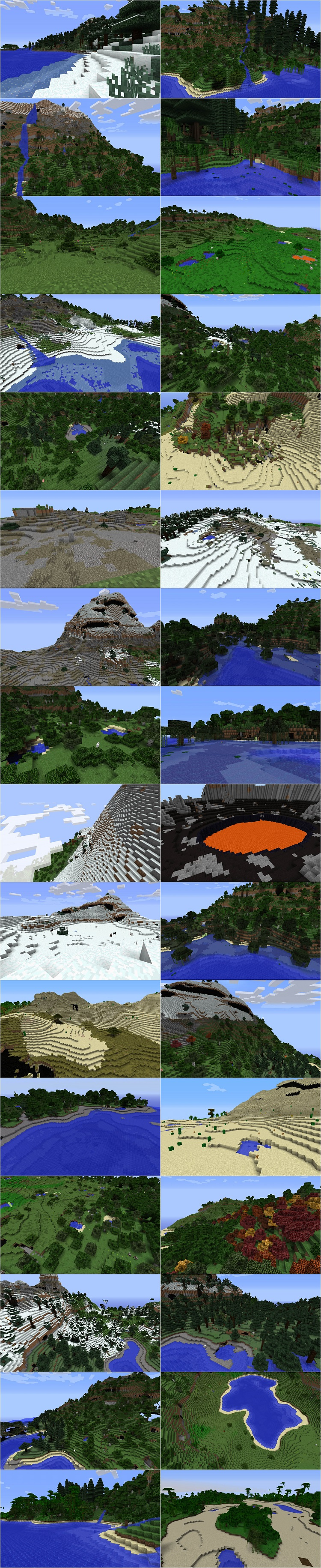 Alternate Terrain Generation Mod for minecraft 1