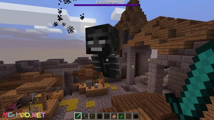 Baby Mobs Mod for Minecraft 3