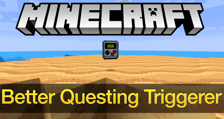 Better Questing Triggerer mod for minecraft logo