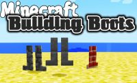 Building Boots Mod for minecraft logo