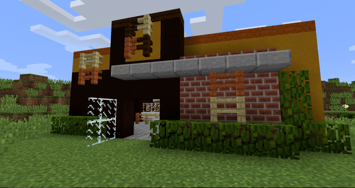 Calopteryx's Fast Food mod for minecraft 01