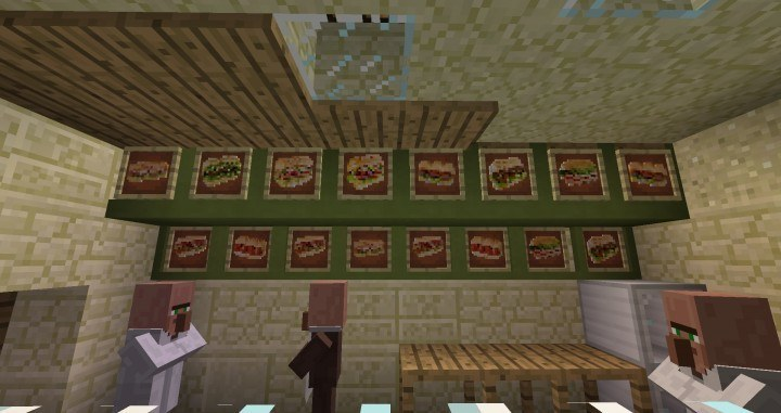 Calopteryx's Fast Food mod for minecraft 02