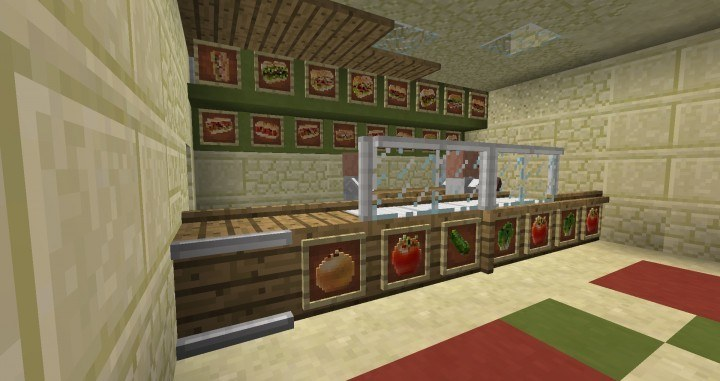 Calopteryxs fast food mod for minecraft 03