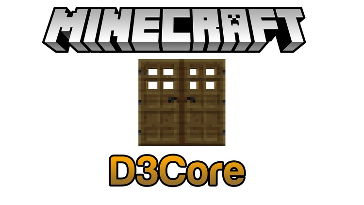 D3Core API Mod for Minecraft Logo