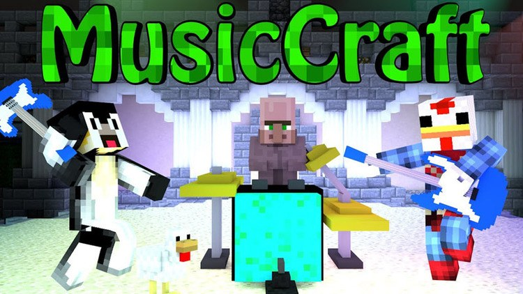 MusicCraft mod for minecraft Logo