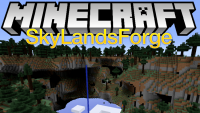 SkyLandsForge mod for minecraft logo