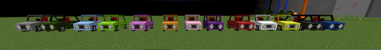 Vehicles Mod for minecraft 1