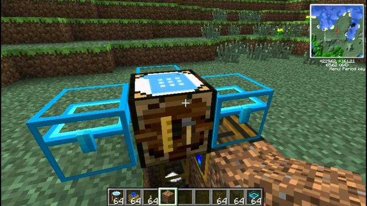 automatic crafting table mod for minecraft 2