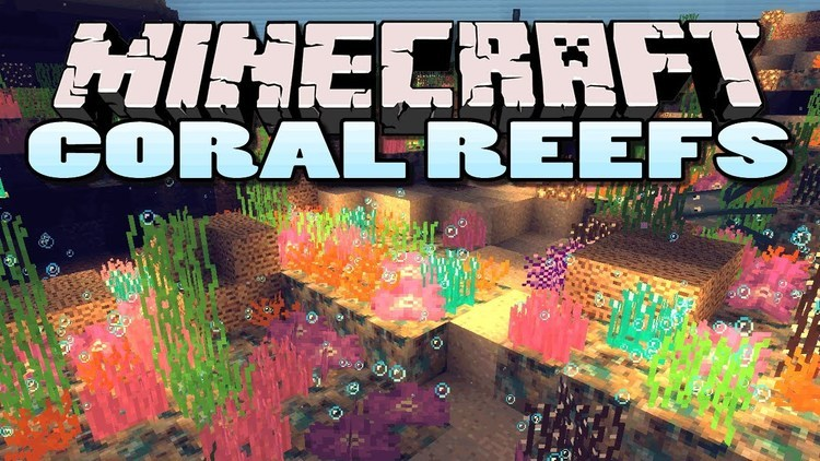 coral reefs mod for minecraft logo