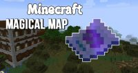 magical map mod for minecraft logo