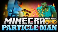 particle man mod for minecraft logo