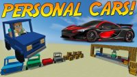 personal cars mod for minecraft logo