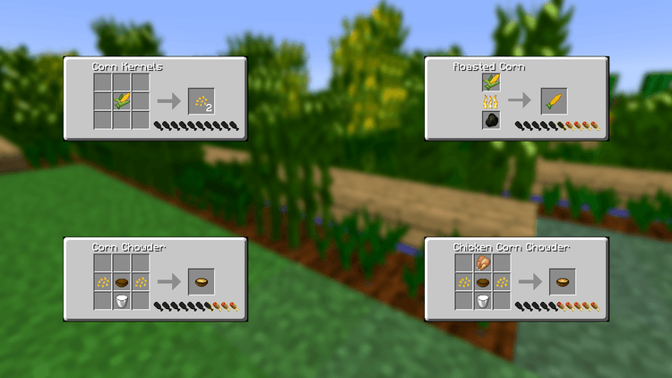 simple corn mod for minecraft 04