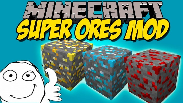 super ores mod for minecraft logo