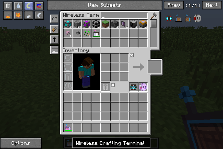 wireless crafting terminal mod for minecraft 01
