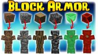 Block Armor mod for Minecraft Logo