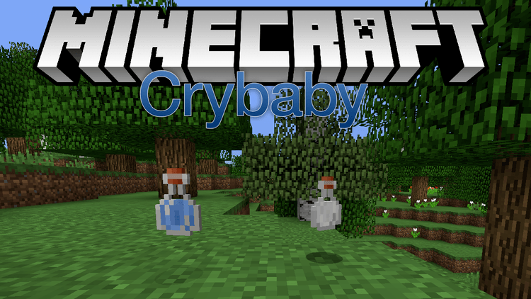Crybaby mod for minecraft logo