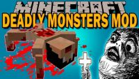 DEADLY MONSTERS MOD Logo
