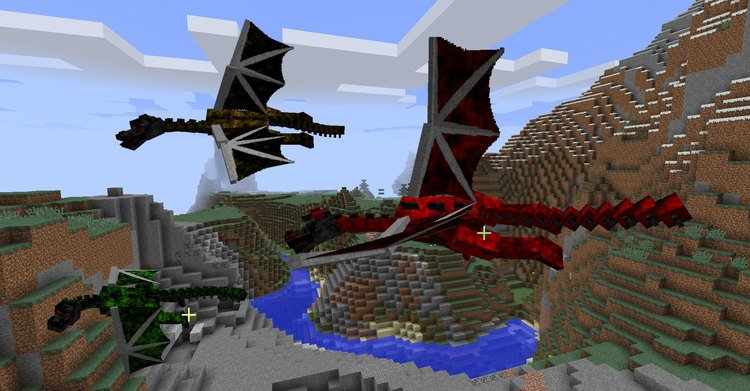 Dragon Realm mod for minecraft 03