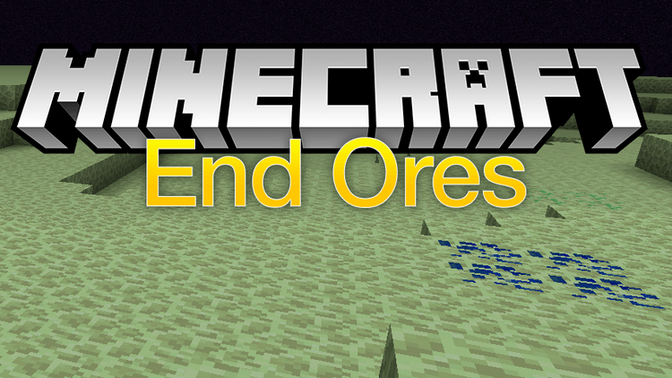 End Ores mod for minecraft logo
