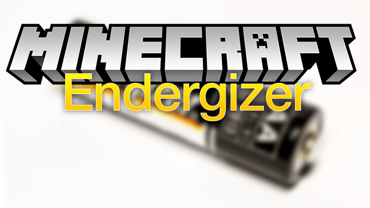 Endergizer mod for minecraft logo