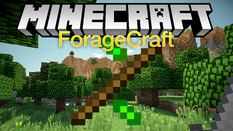 ForageCraft mod for minecraft logo
