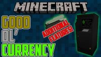 Good ol Currency mod for minecraft Logo
