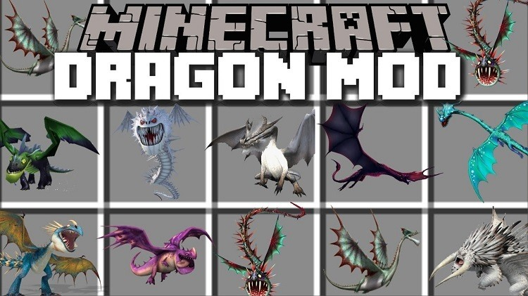 minecraft mod fire and ice dragons