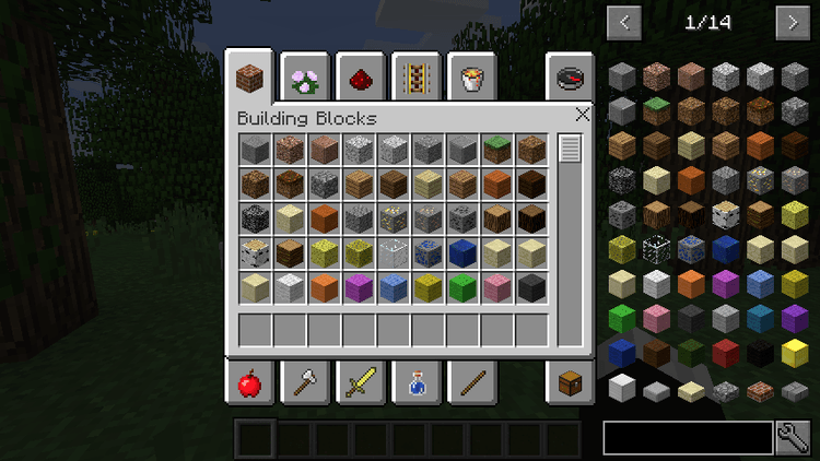 how to open your inventory in minecraft windows 10