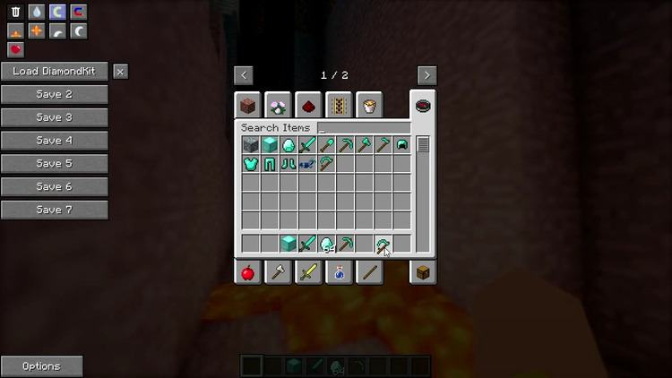 Not Enough Items Mod for Minecraft 1