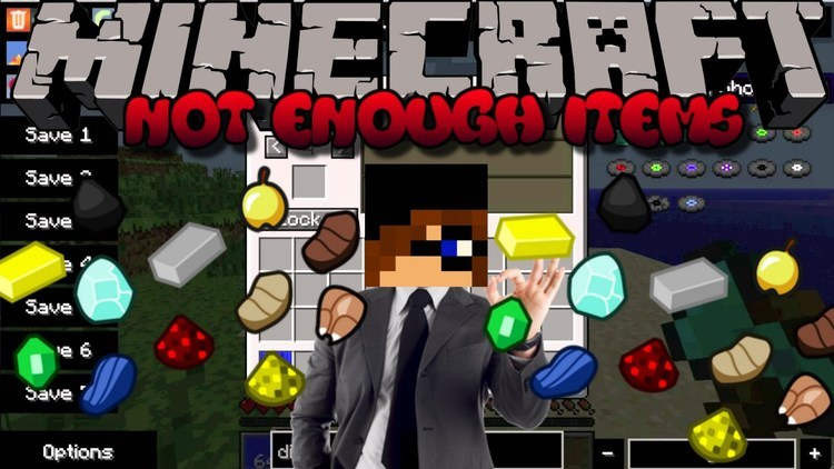 Not Enough Items Mod for Minecraft Logo