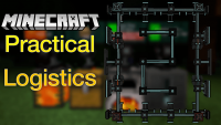 Practical Logistics 2 mod for minecraft logo